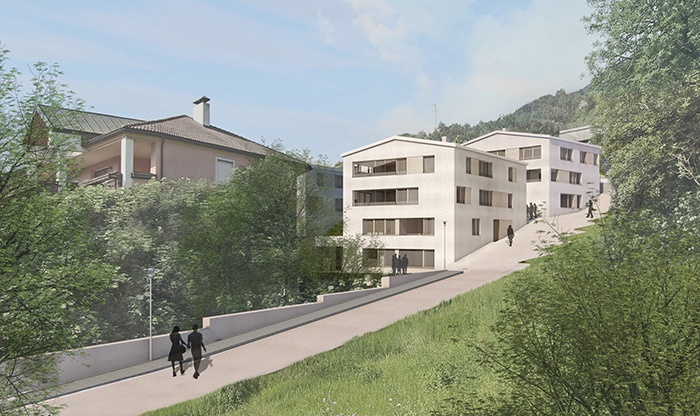 Arch hannes mahlknecht competitions for Design hotel brixen